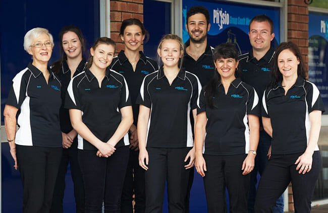 Physio Group South West team