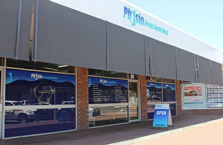 The exterior of our Collie physiotherapy practice